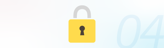 映像データのセキュリティも安心